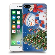 Official Christmas Mix Snowman William Vanderdasson Decorating Tree Hard Back Case For Apple Iphone 7 Plus
