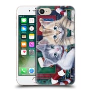 Official Christmas Mix Pets Jenny Newland Calendar Kittens Hard Back Case For Apple Iphone 7