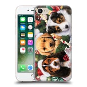 Official Christmas Mix Pets Jenny Newland Puppy Surprise Hard Back Case For Apple Iphone 7