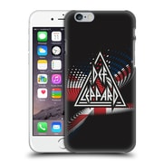 Official Def Leppard Logo Union Jack Hard Back Case For Apple Iphone 6 / 6S