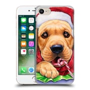 Official Christmas Mix Pets Jenny Newland Santa? Hard Back Case For Apple Iphone 7