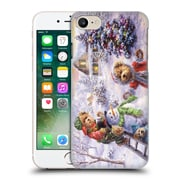 Official Christmas Mix Winter Wonderland Nicky Boehme Fun Loving Merriment Hard Back Case For Apple Iphone 7