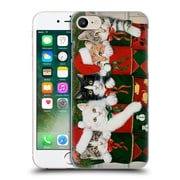 Official Christmas Mix Pets William Vanderdasson Kittens Hard Back Case For Apple Iphone 7