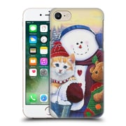 Official Christmas Mix Pets Jenny Newland Winter Wonder Pals Hard Back Case For Apple Iphone 7