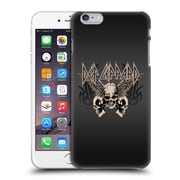 Official Def Leppard Design Skull 1 Hard Back Case For Apple Iphone 6 Plus / 6S Plus