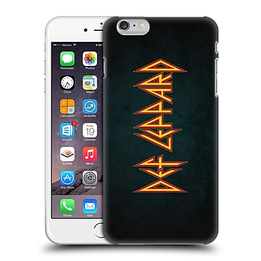Official Def Leppard Logo Iconic Hard Back Case For Apple Iphone 6 Plus / 6S Plus