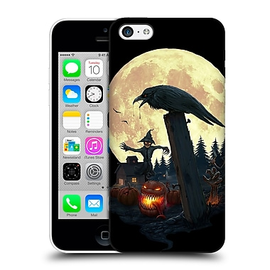 Official Christos Karapanos Horror 2 Halloween Theme Hard Back Case For Apple Iphone 5C