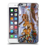 Official Christmas Mix Winter Wonderland Nicky Boehme Country Cottages Hard Back Case For Apple Iphone 6 Plus / 6S Plus
