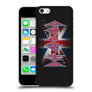 Official Def Leppard Logo Union Jack 2 Hard Back Case For Apple Iphone 5C
