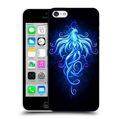 Official Christos Karapanos Phoenix 2 Royal Blue Hard Back Case For Apple Iphone 5C