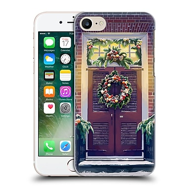 Official Christmas Mix Ornaments Lantern Press Hard Back Case For Apple Iphone 7