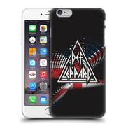 Official Def Leppard Logo Union Jack Hard Back Case For Apple Iphone 6 Plus / 6S Plus