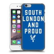 Official Crystal Palace Fc The Eagles Royal Blue Slap Hard Back Case For Apple Iphone 6 / 6S
