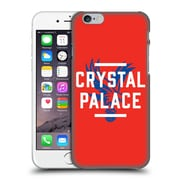 Official Crystal Palace Fc The Eagles Red Palace Hard Back Case For Apple Iphone 6 / 6S