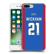 Official Crystal Palace Fc 2016/17 Players Home Kit Connor Wickham Hard Back Case For Apple Iphone 7 Plus