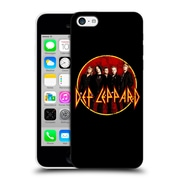 Official Def Leppard Design Photo Hard Back Case For Apple Iphone 5C