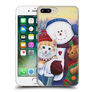 Official Christmas Mix Pets Jenny Newland Winter Wonder Pals Hard Back Case For Apple Iphone 7 Plus