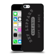 Official Def Leppard Design Dept.Of Rock Hard Back Case For Apple Iphone 5C