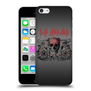 Official Def Leppard Design Skull Target Hard Back Case For Apple Iphone 5C