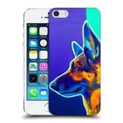 Official Dawgart Dogs 2 German Shepherd Schatze Hard Back Case For Apple Iphone 5 / 5S / Se