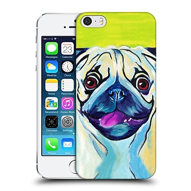 Official Dawgart Dogs Puglicious Hard Back Case For Apple Iphone 5 / 5S / Se