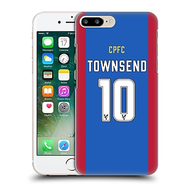 Official Crystal Palace Fc 2016/17 Players Home Kit Andros Townsend Hard Back Case For Apple Iphone 7 Plus