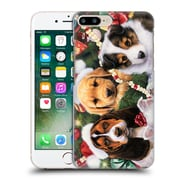 Official Christmas Mix Pets Jenny Newland Puppy Surprise Hard Back Case For Apple Iphone 7 Plus