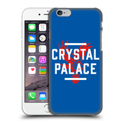 Official Crystal Palace Fc The Eagles Royal Blue Palace Hard Back Case For Apple Iphone 6 / 6S