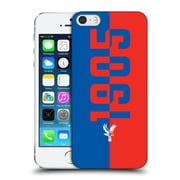 Official Crystal Palace Fc The Eagles 1905 Hard Back Case For Apple Iphone 5 / 5S / Se