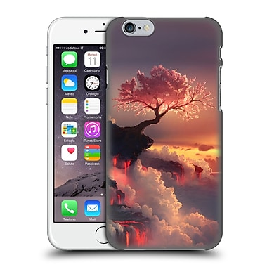 Official Daniel Conway Cherry Blossoms Scorched Earth Hard Back Case For Apple Iphone 6 / 6S