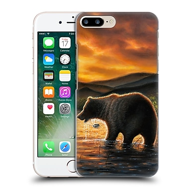 Official Chuck Black Wildlife And Animals Persistence Hard Back Case For Apple Iphone 7 Plus