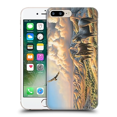 Official Chuck Black Wildlife And Animals Under Wild Skies Hard Back Case For Apple Iphone 7 Plus