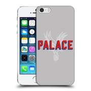 Official Crystal Palace Fc The Eagles Palace Grey Hard Back Case For Apple Iphone 5 / 5S / Se