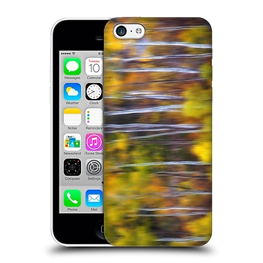 Official Darren White Fall Colours Towering Aspens Hard Back Case For Apple Iphone 5C