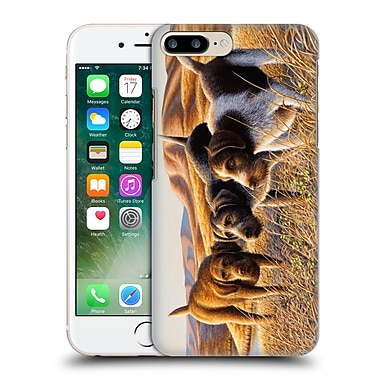 Official Chuck Black Wildlife And Animals The Perfect Trio Hard Back Case For Apple Iphone 7 Plus