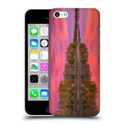 Official Darren White Fall Colours Flames On The Fence Master Hard Back Case For Apple Iphone 5C