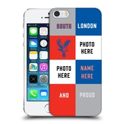 Custom Customised Personalised Crystal Palace Fc 2016/17 South London And Proud Hard Back Case For Apple Iphone 5 / 5S / Se