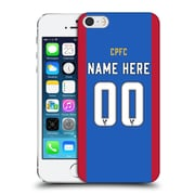 Custom Customised Personalised Crystal Palace Fc 2016/17 Home Kit Hard Back Case For Apple Iphone 5 / 5S / Se