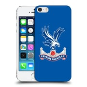 Official Crystal Palace Fc The Eagles Royal Blue Hard Back Case For Apple Iphone 5 / 5S / Se