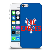 Official Crystal Palace Fc The Eagles Royal Blue Eagles Hard Back Case For Apple Iphone 5 / 5S / Se