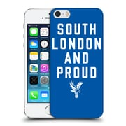 Official Crystal Palace Fc The Eagles Royal Blue Slap Hard Back Case For Apple Iphone 5 / 5S / Se