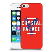 Official Crystal Palace Fc The Eagles Red Palace Hard Back Case For Apple Iphone 5 / 5S / Se