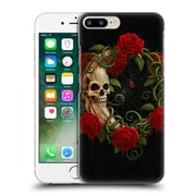 Official Christos Karapanos Horror Skeleton Moon Red Hard Back Case For Apple Iphone 7 Plus