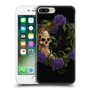 Official Christos Karapanos Horror Skeleton Moon Purple Hard Back Case For Apple Iphone 7 Plus