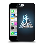 Official Def Leppard Logo Triangle Hard Back Case For Apple Iphone 5C