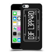 Official Def Leppard Design Steel City Hard Back Case For Apple Iphone 5C