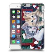 Official Christmas Mix Pets Jenny Newland Calendar Kittens Hard Back Case For Apple Iphone 6 Plus / 6S Plus