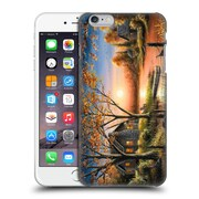 Official Chuck Black Cabin An Autumn Sunset Hard Back Case For Apple Iphone 6 Plus / 6S Plus