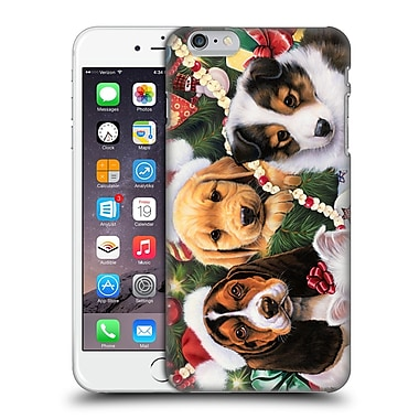 Official Christmas Mix Pets Jenny Newland Puppy Surprise Hard Back Case For Apple Iphone 6 Plus / 6S Plus