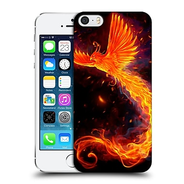 Official Christos Karapanos Phoenix Immortal Flames Alternative Hard Back Case For Apple Iphone 5 / 5S / Se